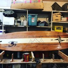 Cedar Kayak and Surf Board